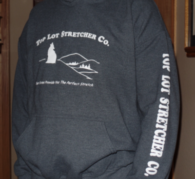 Top Lot Stretcher Co. Hooded Sweatshirt - White Lettering